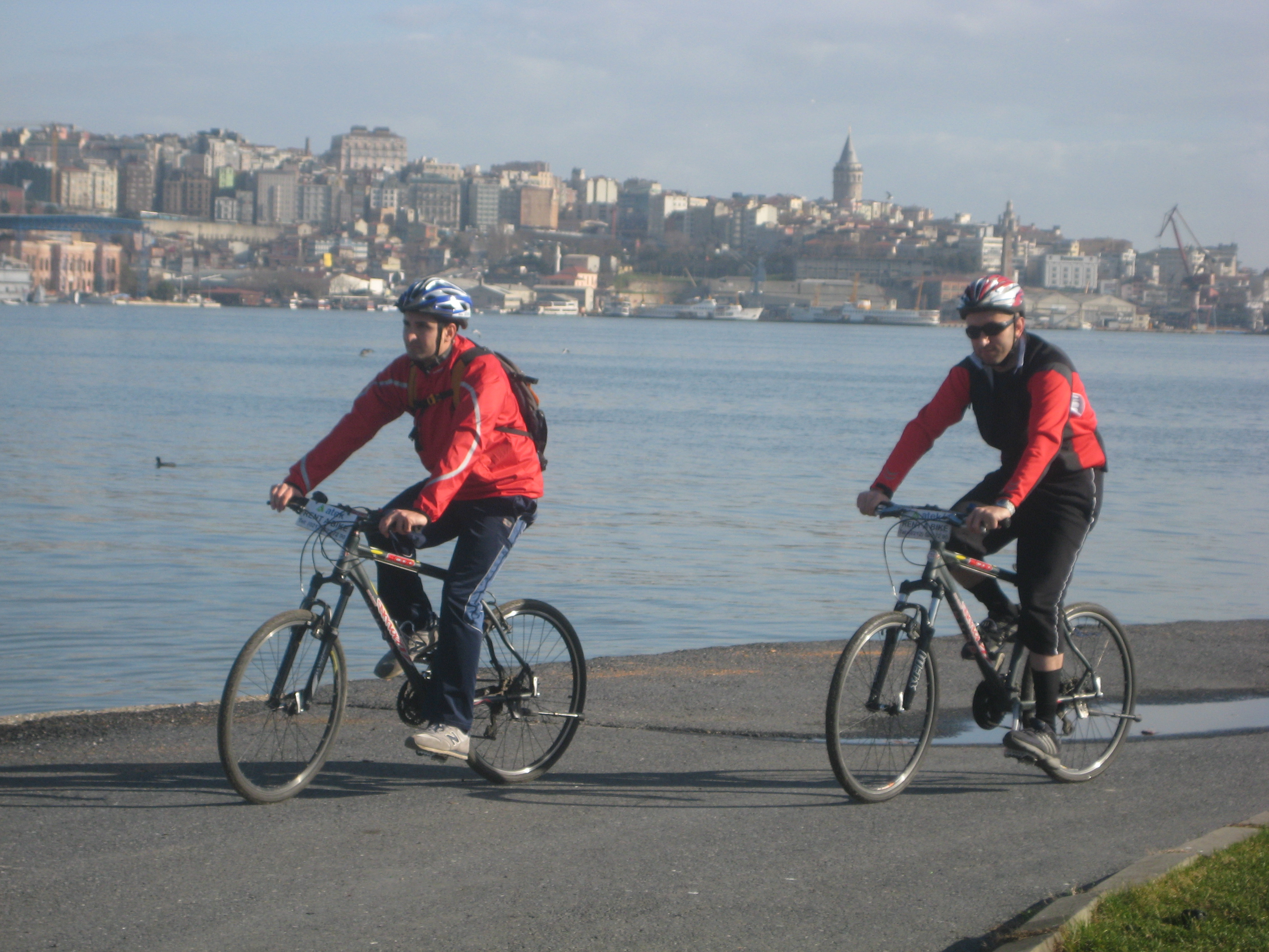 Riding on the waterfront