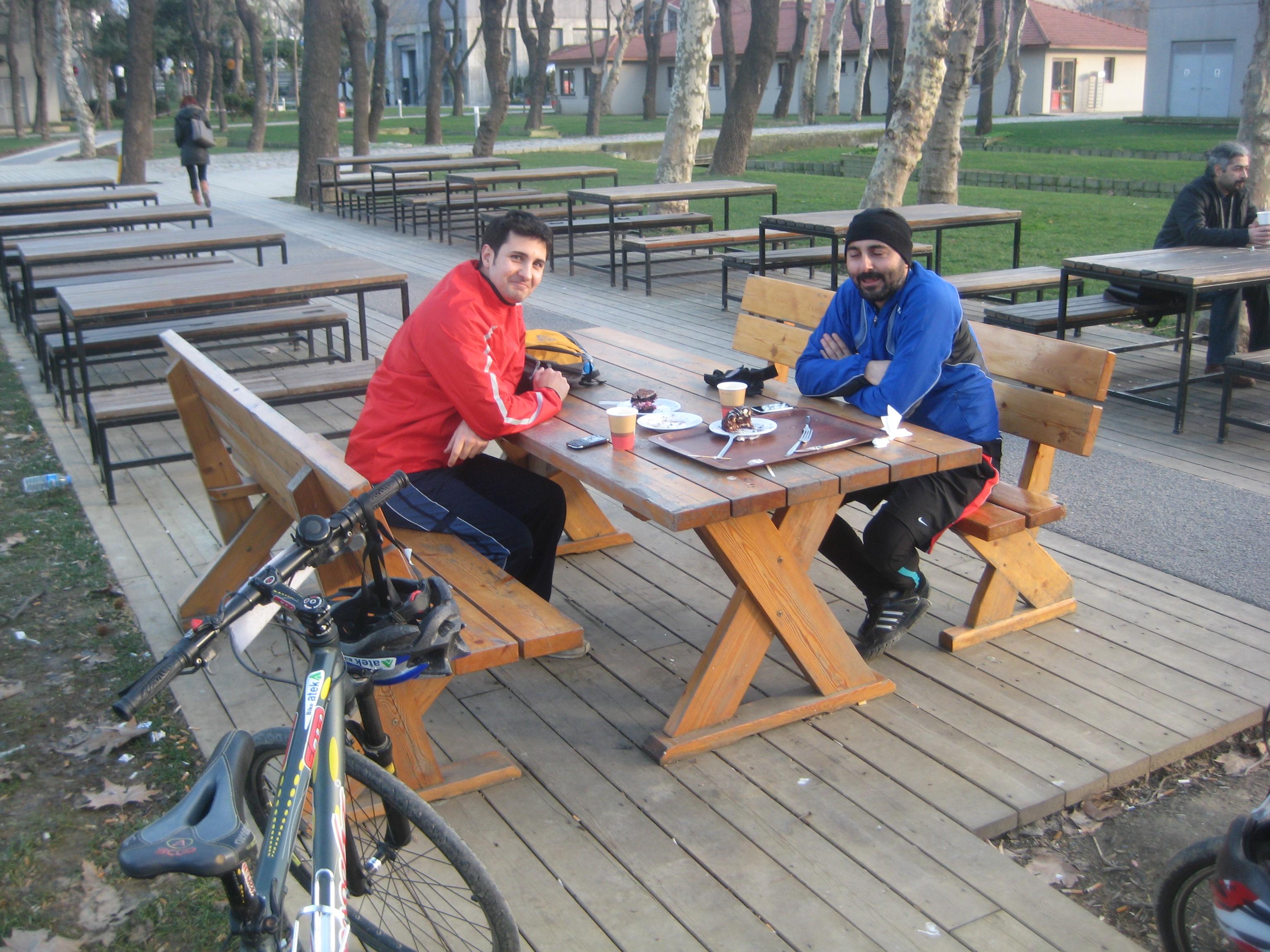 Coffee break in Santral Istanbul