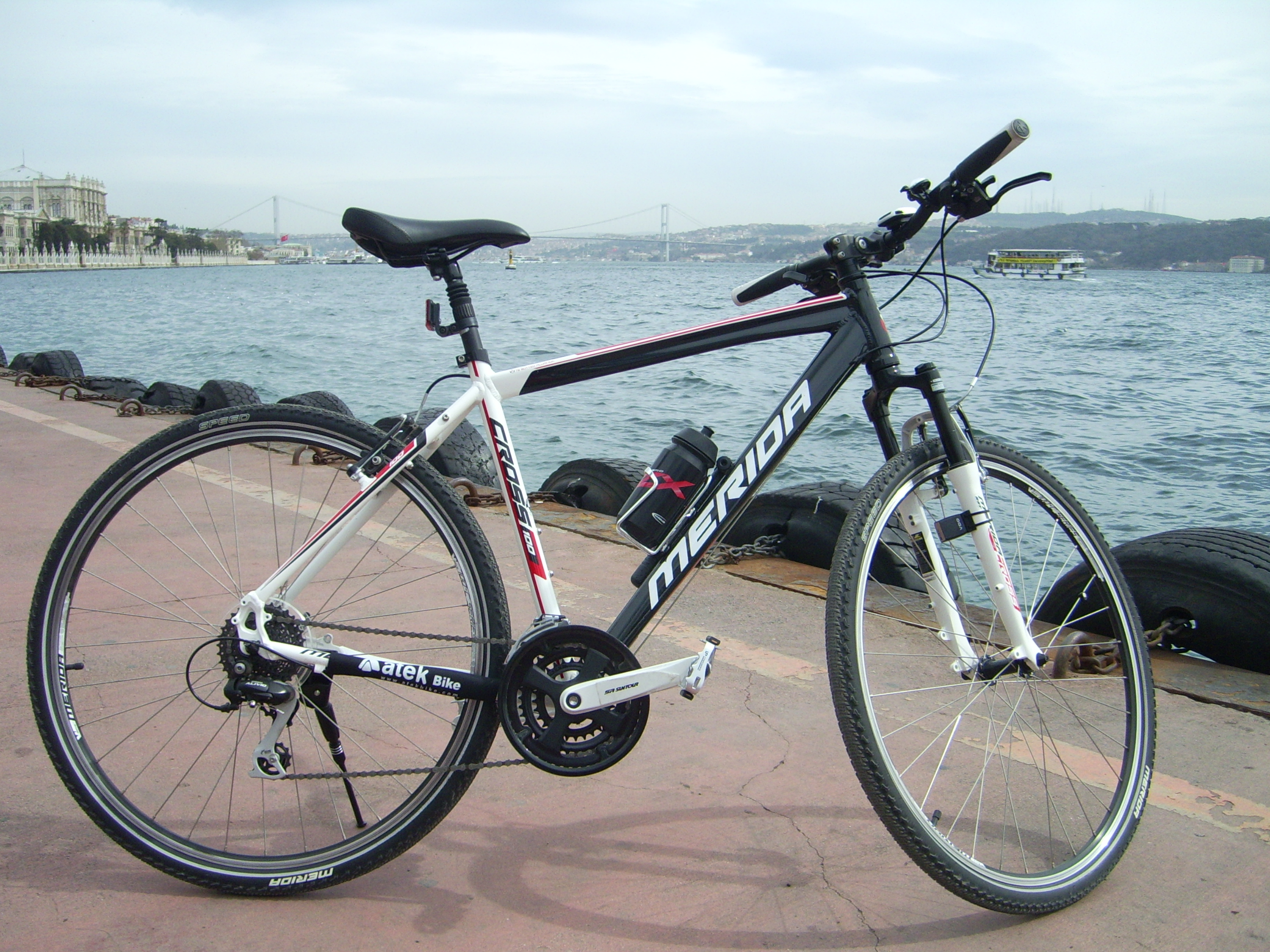 Bike with Bosphorus view