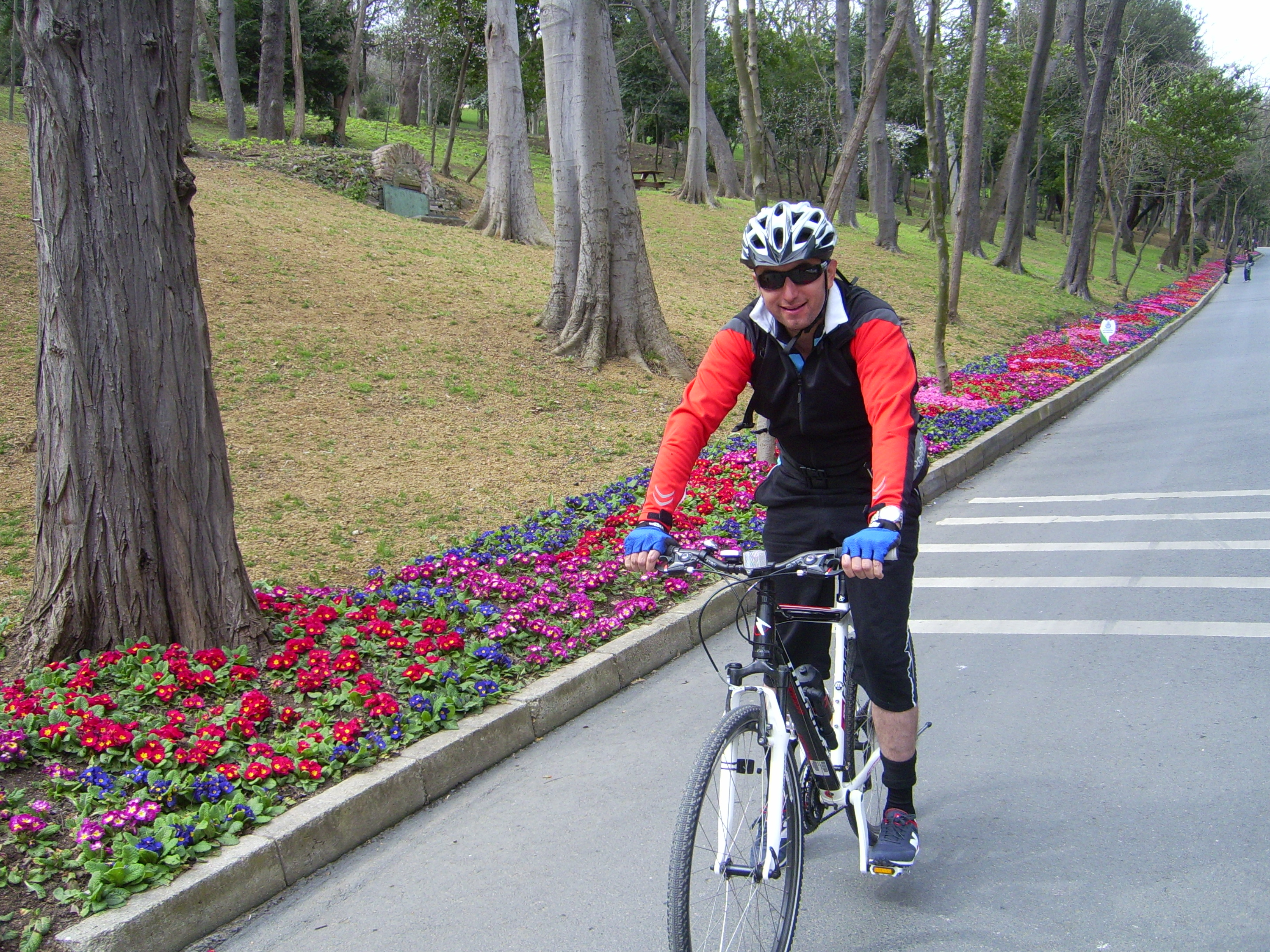 Riding in Yildiz Park