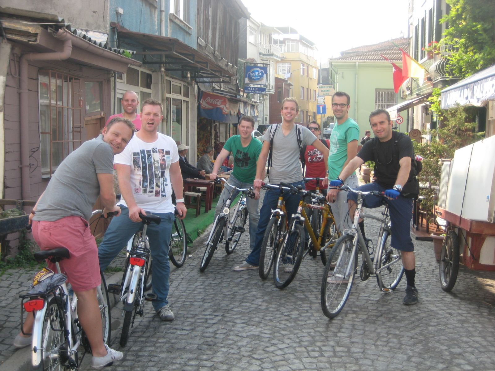 Martijn's group in sokak