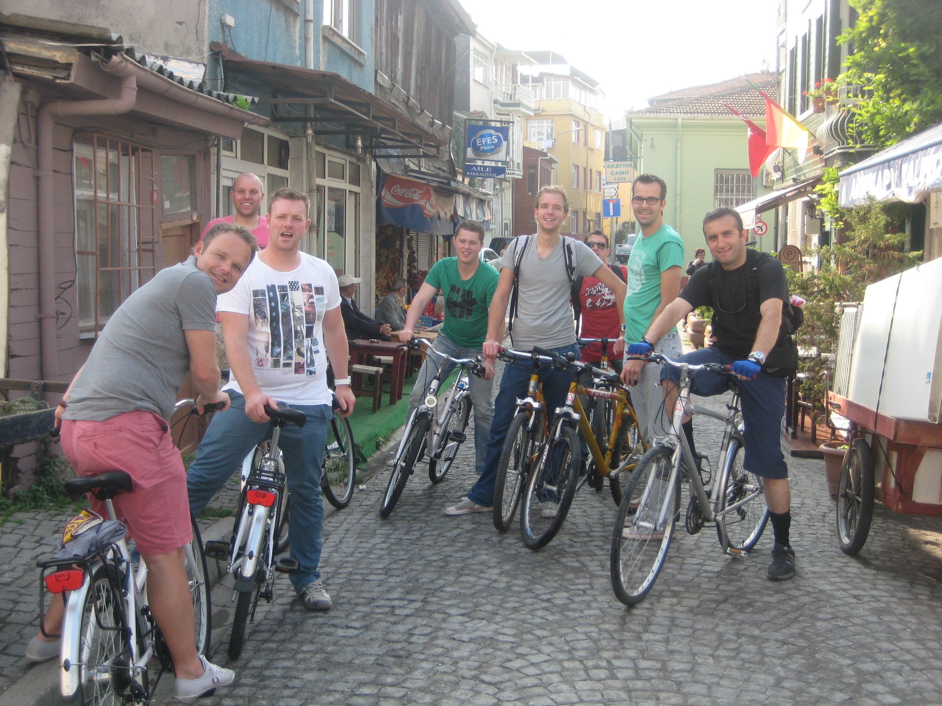 Martijn's group in sokak