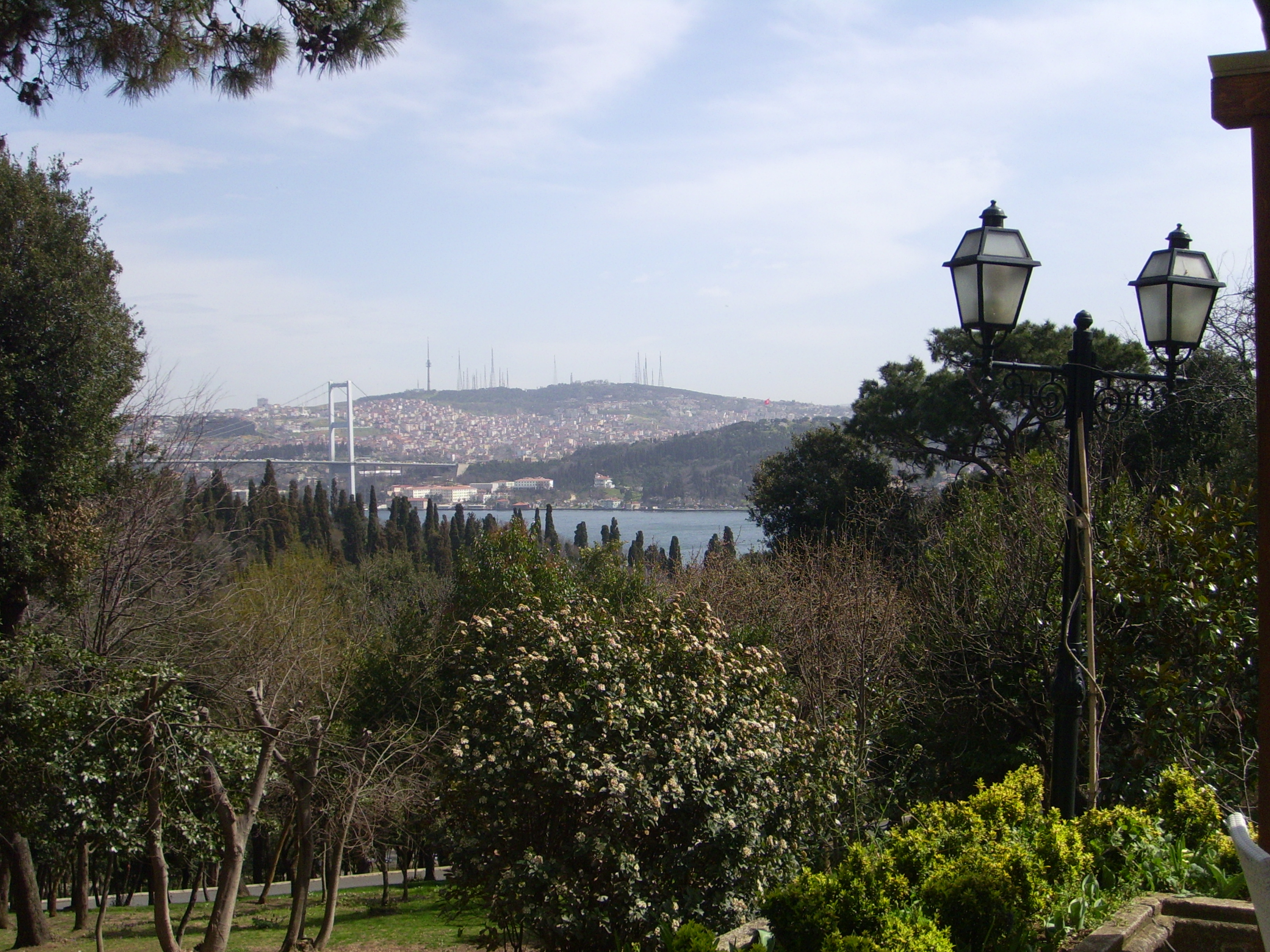 View from panoramic terrace in Yildiz Park