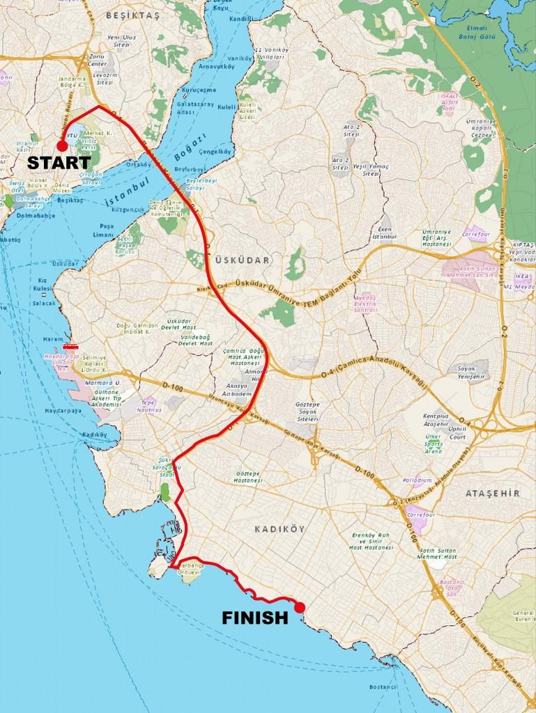 Eurasia_Cycle_Trip_route