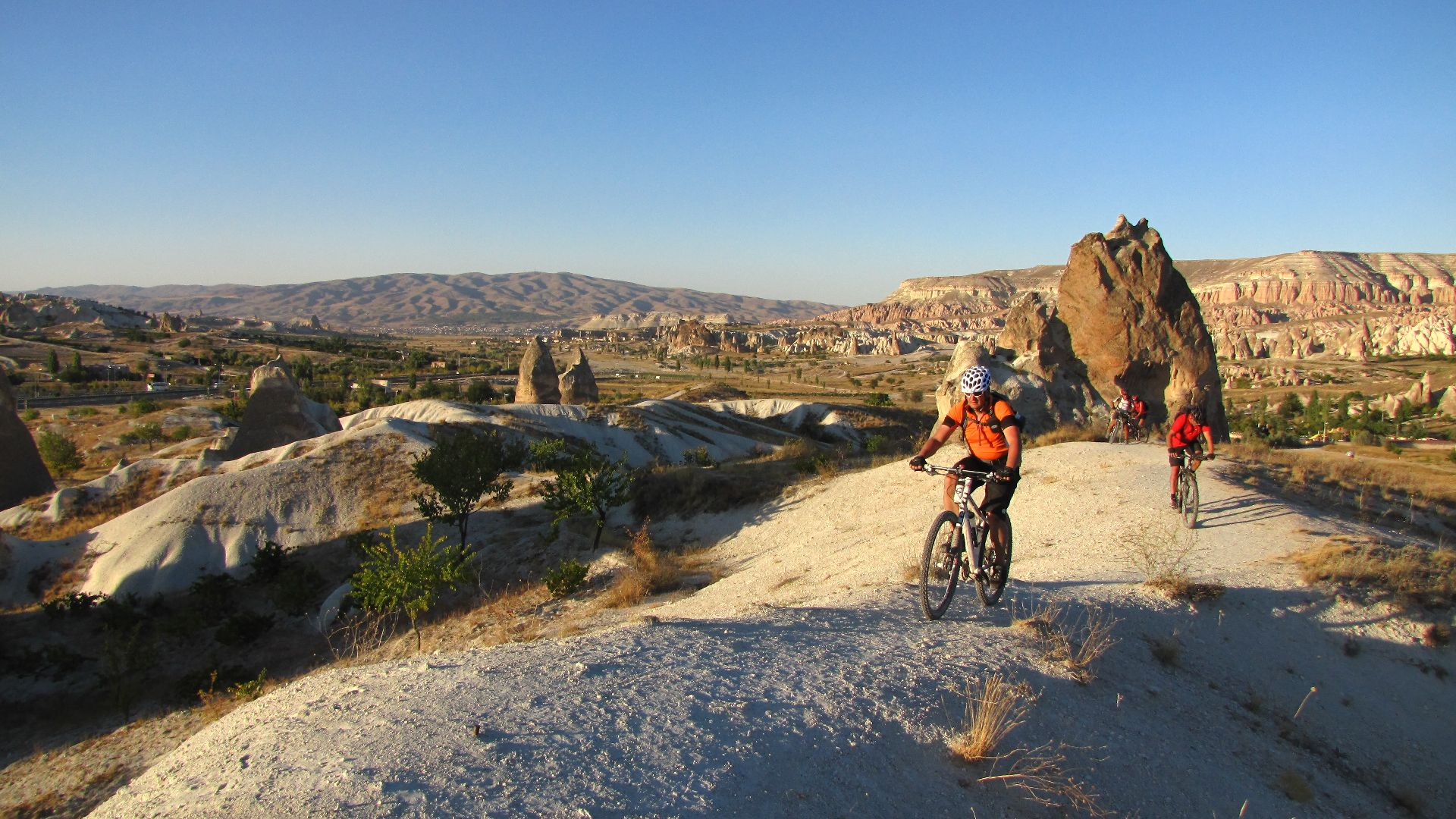Biking in Cappadocia