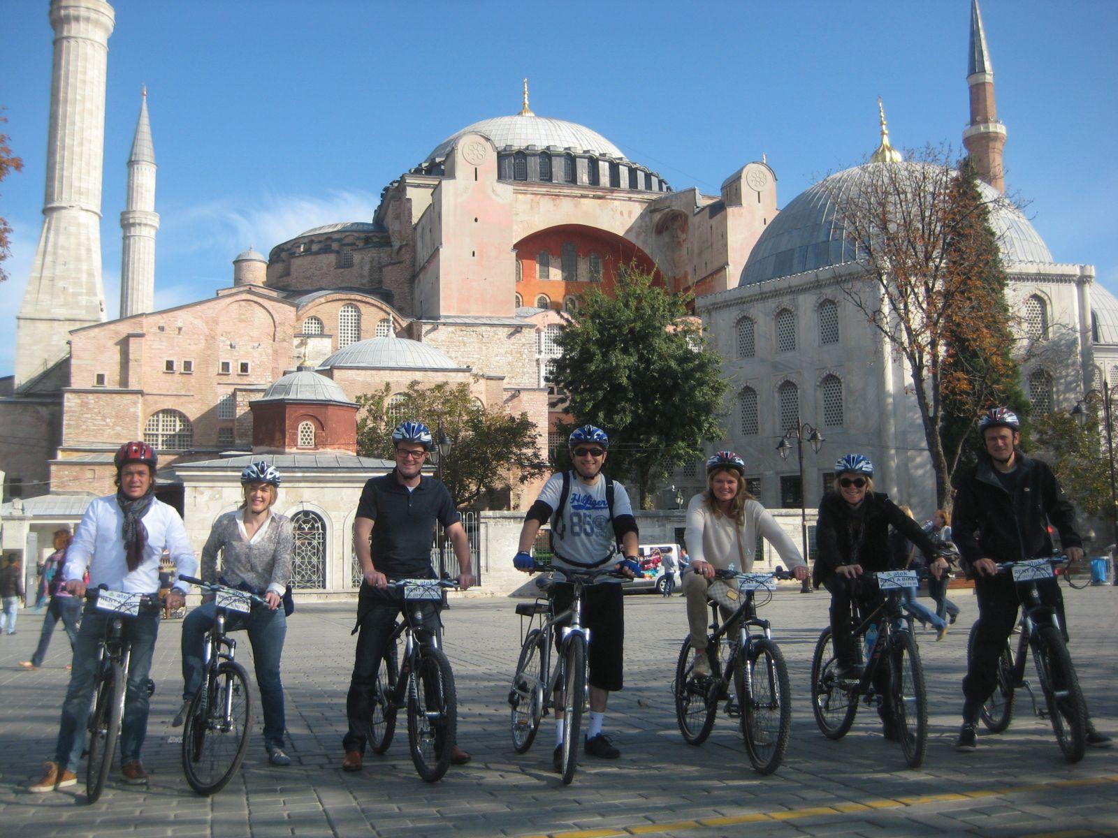 Hagia Sophia - Istanbul On Bike Old City Tour