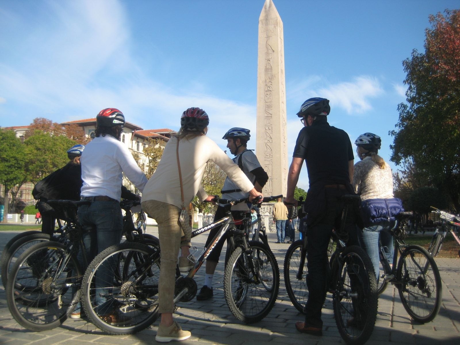 Egyptian Obelisk Old City Bike Tour