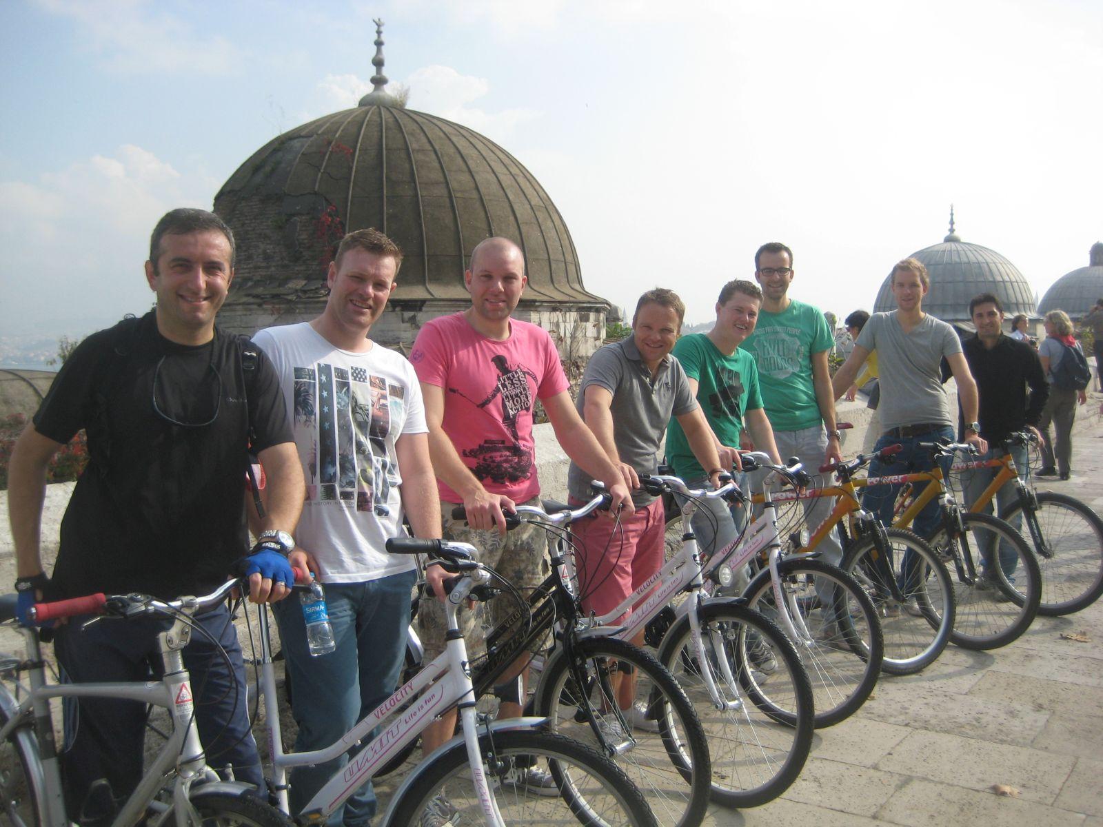 Group photo Suleymaniye Mosque-2