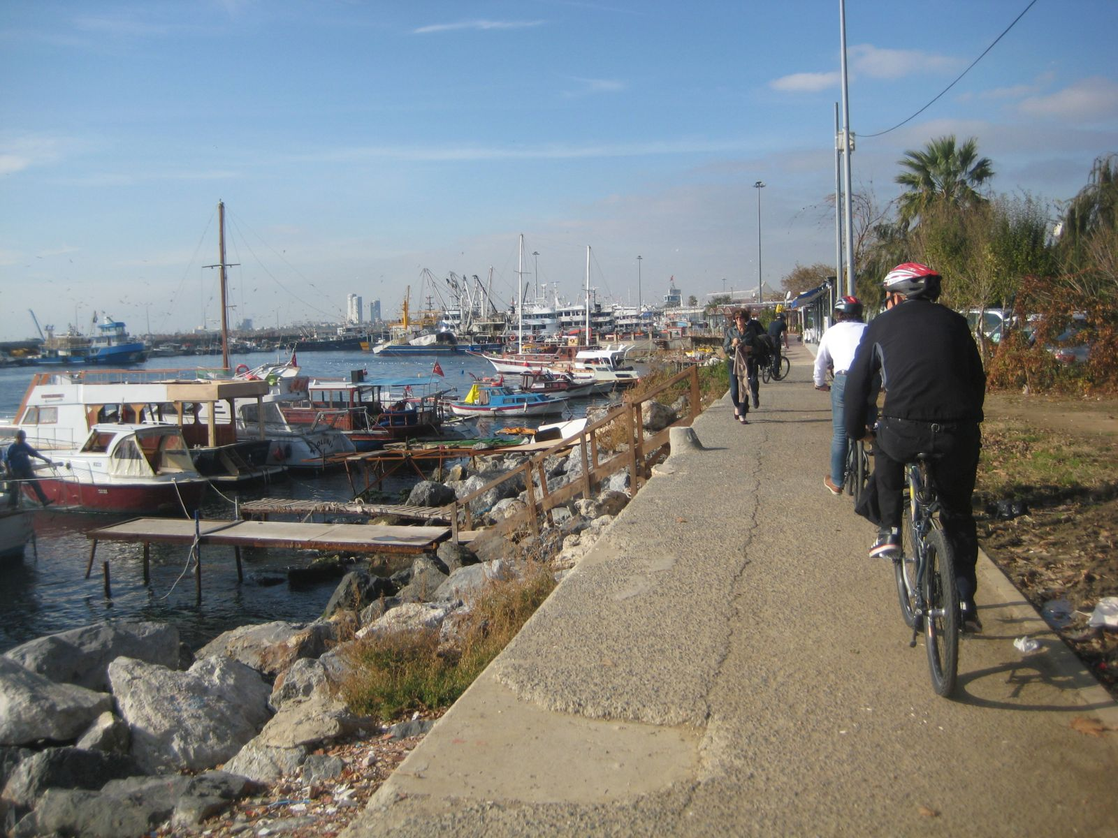 Marmara waterfront Old City Bike tour