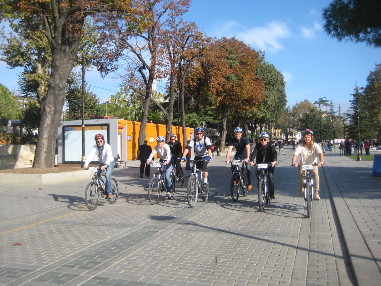 Riding the Hippodrome Old City Bike Tour