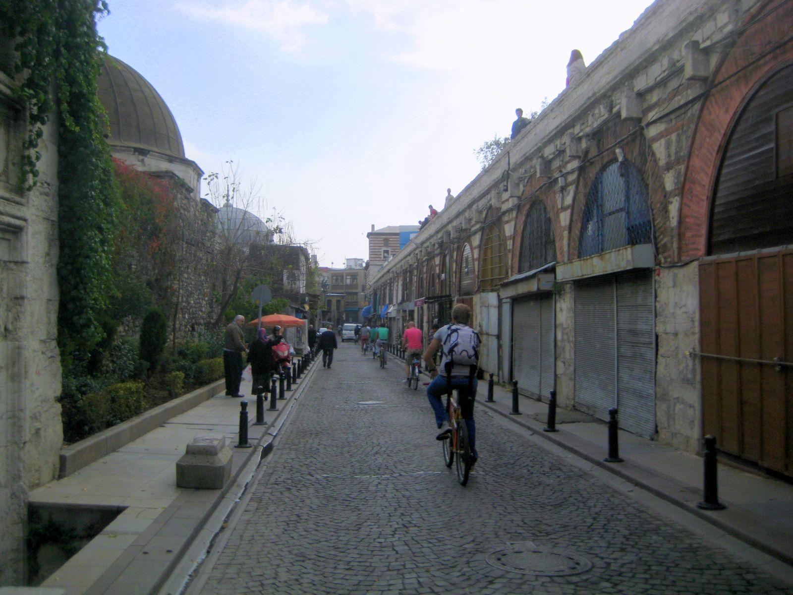 Street at Suleymaniye Mosque