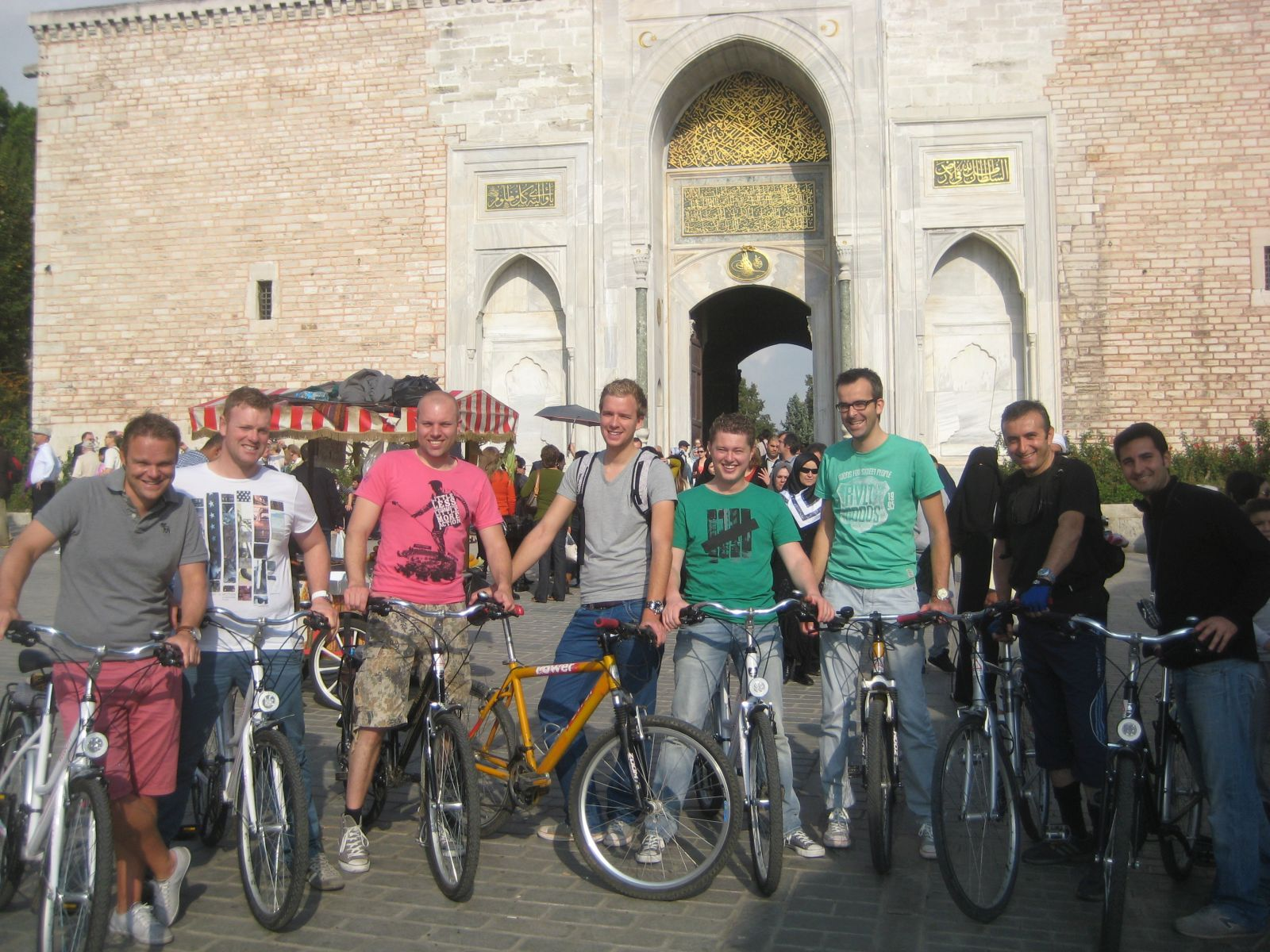 Topkapi Palace Old City Bike Tour